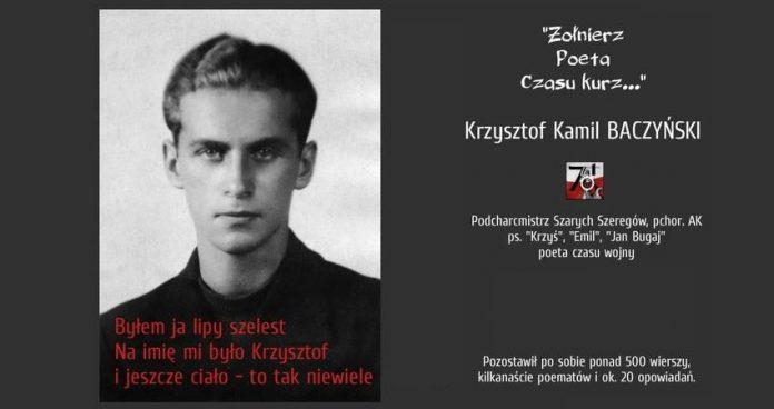 95 Rocznica Urodzin Krzysztofa Kamila Baczyńskiego Polonorama
