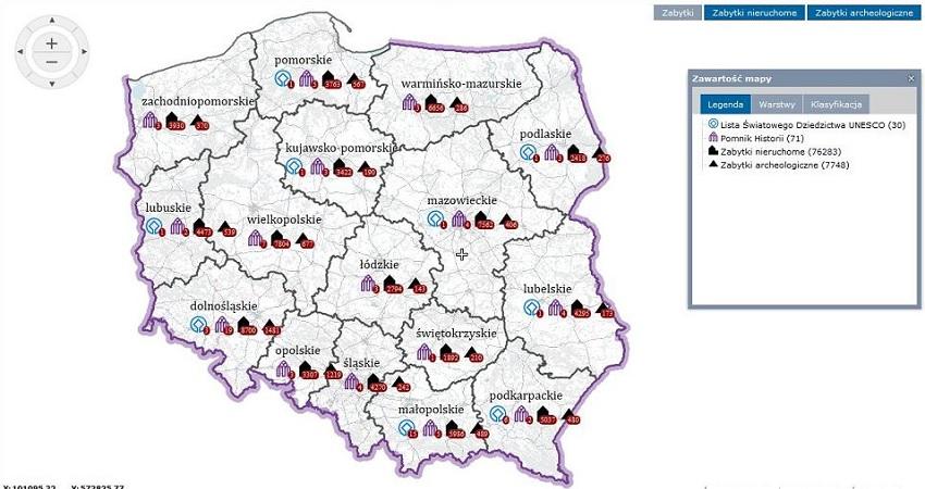 Ponad 84 Tys Polskich Zabytkow Na Interaktywnej Internetowej